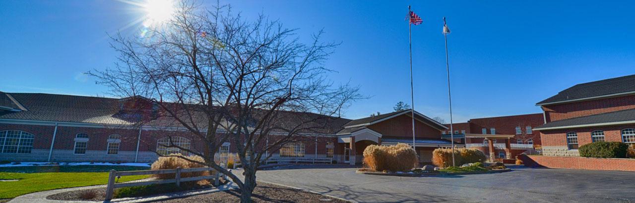 About Fairhaven - Exterior Campus View